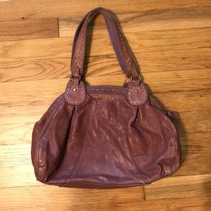 Lucky Brand Purple Shoulder Bag Purse